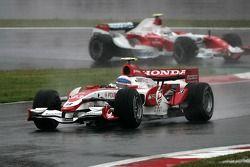 Anthony Davidson, Super Aguri F1 Team, Jarno Trulli, Toyota Racing
