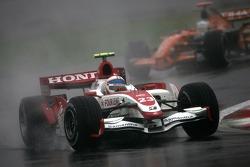 Anthony Davidson, Super Aguri F1 Team, Adrian Sutil, Spyker F1 Team
