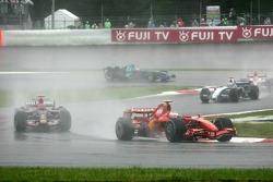 Кими Райкконен, Scuderia Ferrari, Витантонио Льюцци, Scuderia Toro Rosso