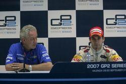 Paul Jackson, with 2007 GP2 Series Champion Timo Glock