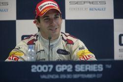 2007 GP2 Series Champion Timo Glock