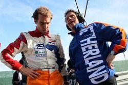 Jeroen Bleekemolen, pilote A1 Equipe des Pays-Bas et Jan Lammers, titulaire du siège A1 Equipe des Pays-Bas