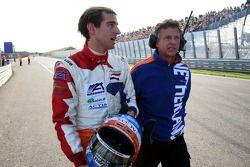 Jeroen Bleekemolen, pilote A1 Equipe des Pays-Bas et Jan Lammers, titulaire du siège A1 Equipe des
