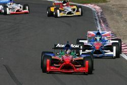 Adrian Zaugg, pilote A1 Team South Africa , devant Oliver Jarvis, pilote A1 Equipe de Grande Bretagn