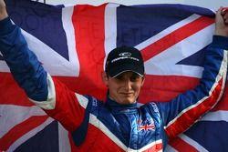 Podium, Oliver Jarvis, pilote A1 Equipe de Grande Bretagne