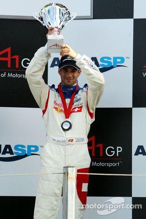 Podium, Neel Jani, pilote A1 Equipe de Suisse