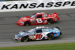 Greg Biffle and Dale Earnhardt Jr.