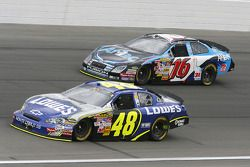 Greg Biffle and Jimmie Johnson