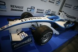 The new GP2 Renualt Development car on show to guests