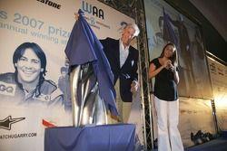 Nani Rodriguez, with Gonzalo Rodriguez Special Award awarded to Giorgio Pantano