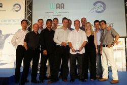 The Bridgestone Team collect their award