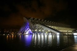 Valencia exhibition/Art Centre, venue of the GP2 Series Prize Giving Ceremony