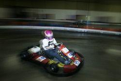 Le pilote de Kart Colbi Bradley