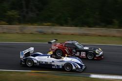 #16 Dyson Racing Team Porsche RS Spyder: Butch Leitzinger, Andy Wallace, Andy Lally, #21 Panoz Team PTG Panoz Esperante GTLM: Bill Auberlen, Joey Hand, Tom Kimber-Smith