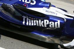 WilliamsF1 Team, FW29, Thinkpad instead, Lenovo, sidepod