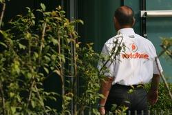 Ron Dennis, teambaas McLaren