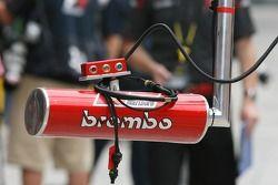 Scuderia Ferrari, pit lights