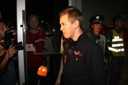 Sebastian Vettel, Scuderia Toro Rosso after his meeting ve stewards