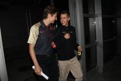 Sebastian Vettel, Scuderia Toro Rosso before his meeting ve stewards