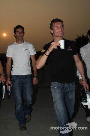 Mark Webber, Red Bull Racing ve David Coulthard, Red Bull Racing