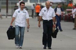 Timo Glock, Test Pilotu, BMW Sauber F1 Team ve Peter Sauber, BMW Sauber F1 Team, Team Advisor