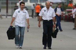 Timo Glock, Test Pilotu, BMW Sauber F1 Team ve Peter Sauber, BMW Sauber F1 Team, Team Advisor