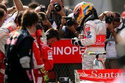Pole Position, 1st, Lewis Hamilton, McLaren Mercedes
