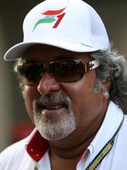 Dr Vijay Mallya, partie du consortium ayant acheté Spyker F1 Team