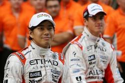 Sakon Yamamoto, Spyker F1 Team, Adrian Sutil, Spyker F1 Team