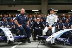 Williams F1 Team, takım fotoğrafı, Patrick Head, WilliamsF1 Team, Direktör, mühendising, Sir Frank W