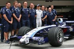 Williams F1 takım fotoğrafı, Nico Rosberg, WilliamsF1 Team