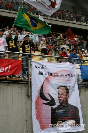 Rubens Barrichello, Honda Racing F1 Team, fans