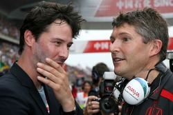 Nick Fry, Honda Racing F1 Team, Director Ejecutivo, Keanu Reeves, Actor