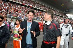 Nick Fry, Honda Racing F1 Team, Chief Executive Officer, Keanu Reeves, Actor