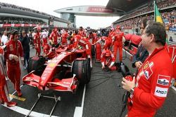 Jean Todt, Scuderia Ferrari, Ferrari CEO on the grid