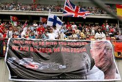 McLaren Mercedes, fans