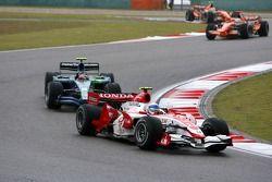 Anthony Davidson, Super Aguri F1 Team, Rubens Barrichello, Honda Racing F1 Team