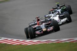 Vitantonio Liuzzi, Scuderia Toro Rosso, Nick Heidfeld, BMW Sauber F1 Team, Rubens Barrichello, Honda