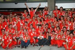 Ferrari Celebration, Felipe Massa, Scuderia Ferrari, Jean Todt, Scuderia Ferrari, Ferrari CEO, Kimi Raikkonen, Scuderia Ferrari