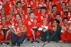 Ferrari Celebration, Felipe Massa, Scuderia Ferrari, Jean Todt, Scuderia Ferrari, Ferrari CEO, Kimi