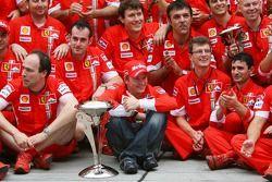 Ferrari Celebration, Kimi Raikkonen, Scuderia Ferrari, Chris Dyer, Scuderia Ferrari, Track Engineer