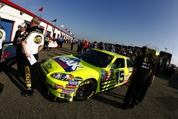 The Menards/PEAK Chevy enters tech inspection