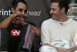 Juan Pablo Montoya y Jacques Villeneuve