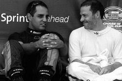 Juan Pablo Montoya et Jacques Villeneuve