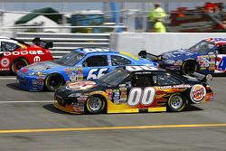 David Reutimann and Jeff Green battle
