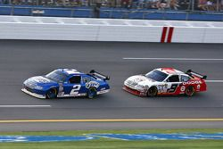 Kurt Busch and Kasey Kahne