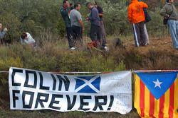 Les fans se souviennent de Colin McRae