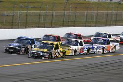 Todd Bodine and Ted Musgrave fight for the lead