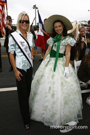 La belle Miss Road Atlanta et Scarlett O'Hara