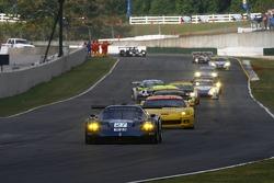 Pace lap: #27 Lista Doran Racing Maserati MC-12-C: Didier Theys, Fredy Lienhard, Andrea Bertolini
